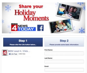 Ask your users to share great memories and any photos that accompany it!